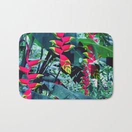 Colorful garden Bath Mat