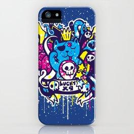 Unlucky Kitty iPhone Case