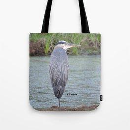 Blue Heron at Hillsboro Pond Tote Bag
