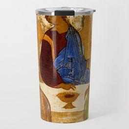 Trinity Angels of God Icon Travel Mug