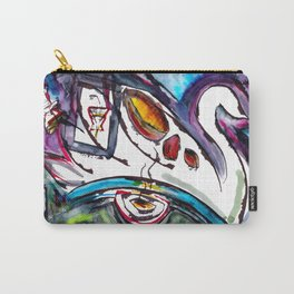 Intergalactic Swan Carry-All Pouch