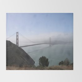 The Golden Gate Bridge Throw Blanket
