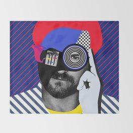 Solomun By Sebas Rivas Throw Blanket