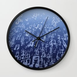 Aquatic Chords Wall Clock
