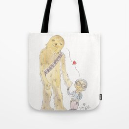 Maz loves Chewie Tote Bag