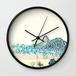 Rio de Janeiro - Pão de Açúcar - Art 022 Wall Clock