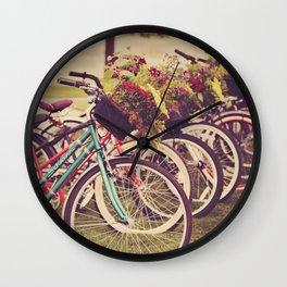 Beach Cruisers Wall Clock