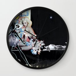 Moonlight Serenade Wall Clock