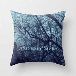 Bleakness  Throw Pillow