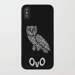 OWL OvO iPhone Case