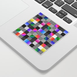 Mondrian Couture Sticker