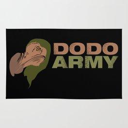 Dodo Army Rug