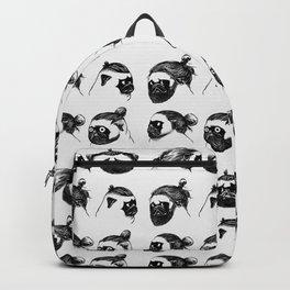 Pug Buns Backpack
