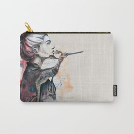 seehorse by carographic Carry-All Pouch