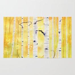 Autumn Birch Rug