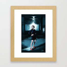 Garage Framed Art Print
