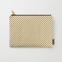 Pirate Gold Polka Dots Carry-All Pouch