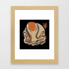OCTOLAND1 Framed Art Print