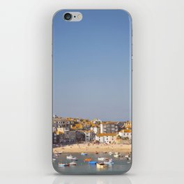St Ives Harbour. iPhone Skin
