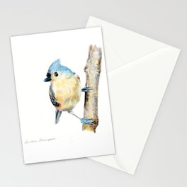 Tufted Titmouse by Teresa Thompson Stationery Cards
