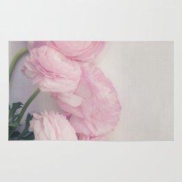 Pink Peonies Rug