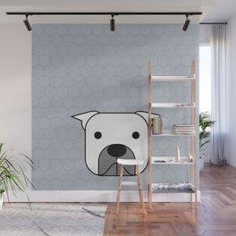 Pop Dog Pittbul Wall Mural