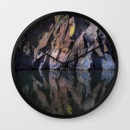 Color Reflected Wall Clock