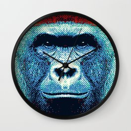 Gorilla -  Colorful Animals Wall Clock