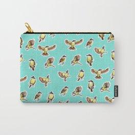 Bichofue pattern / great kiskadee illustration Carry-All Pouch
