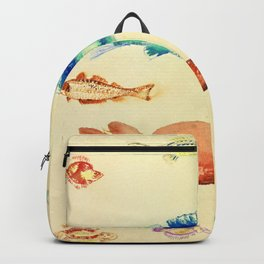 "Odilon Redon ""Fishes (Poissons)"" Backpack"