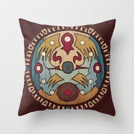 clock town clock Throw Pillow