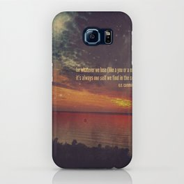 whatever we lose iPhone Case
