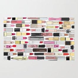 Lipstick War Rug