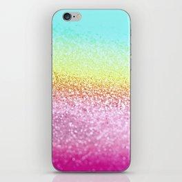 UNICORN GLITTER iPhone Skin
