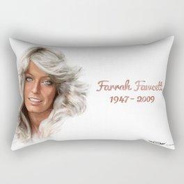 Farrah Fawcett  Rectangular Pillow