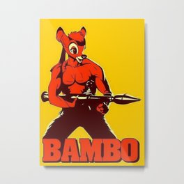 The Awesome BAMBO Metal Print