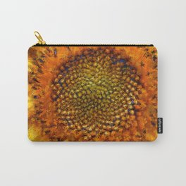 Sunflower and Seeds In Van Gogh Style Carry-All Pouch