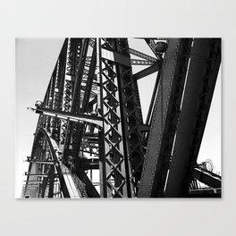Harbour Bridge Details Canvas Print