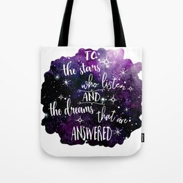A court of mist and fury Tote Bag