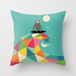 Surfs Up Throw Pillow