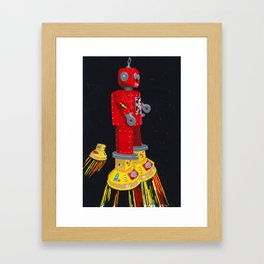 Robby fly Framed Art Print