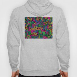 multidimensional maze Hoody