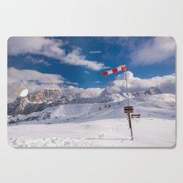 Windsock in the alps Cutting Board