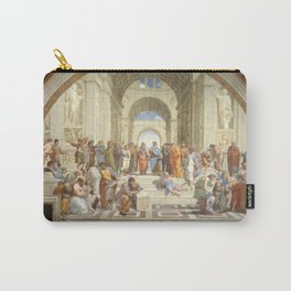 Raphael - The School of Athens Carry-All Pouch