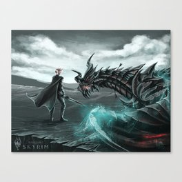 I am Alduin Canvas Print