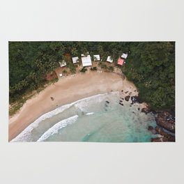 Tropical Summer Beach in The Philippines Rug