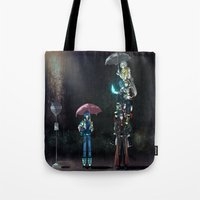 dramatical murder Tote Bags featuring Dramatical Murder - My Neighbors... by Lalasosu2
