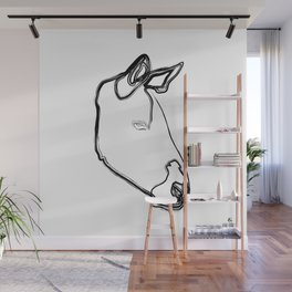 """ Animals Collection "" - Zebra Wall Mural"