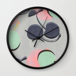 Cherry 2 Wall Clock