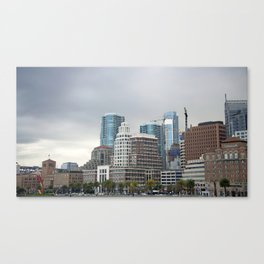 Downtown San Francisco, Changing Skyline Canvas Print